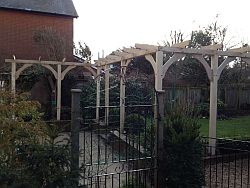 Oak Structures for the Garden